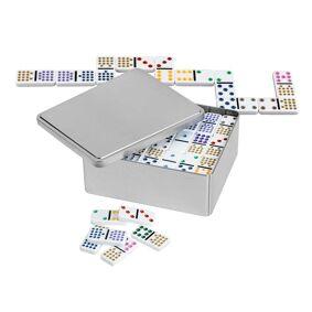 Domino Dobble 15 Metallboks 136 brikker