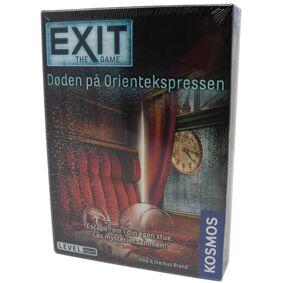 Exit Døden På Orientekspress Brettspill Norsk utgave