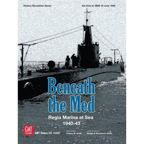 Beneath the Med Brettspill Regia Marina at the Sea 1940-43