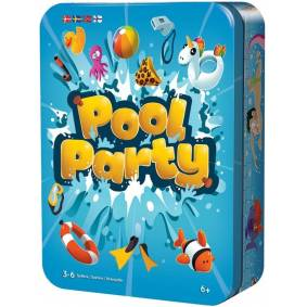 Pool Party Brettspill Norsk utgave