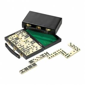 Domino Dobbel 9 i koffert 55 Brikker