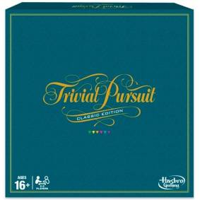 Trivial Pursuit Brettspill - Engelsk 2017 Edition med 2400 spørsmål