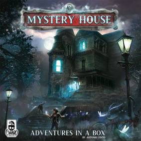 Mystery House Brettspill Adventures in a Box