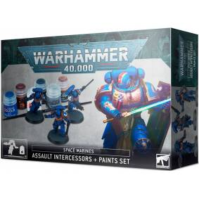 Space Marines Assault Inter + Paint Set