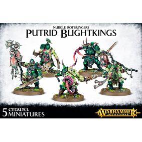 Maggotkin of Nurgle Putrid Blightkings Warhammer Fantasy