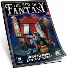Vallejo Bok The Rise of Fantasy Guide How to Build Fantasy Scenes