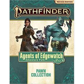 Pathfinder 2nd Ed Pawns Agens of Edgewat Second Edition RPG- 100+ Standees