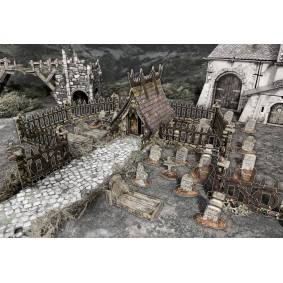 Battle Systems Add On Graveyard Fantasy Terrain