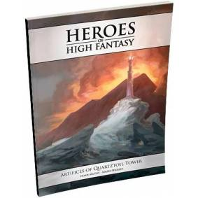 D&D Adventure Artifices Quartztoil Tower Dungeons & Dragons Heroes High Fantasy