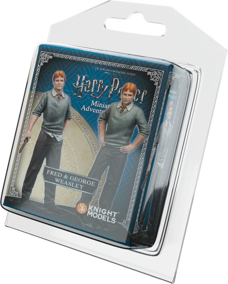 Harry Potter MG Weasley Twins Exp Utvidelse Harry Potter Miniature Game
