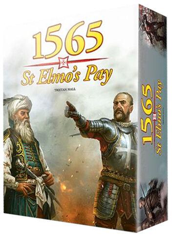 1565 St Elmos Pay Brettspill The Great Siege of Malta