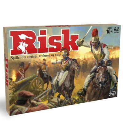 RISK Brettspill Norsk Klassisk strategispill Med oppdragskort
