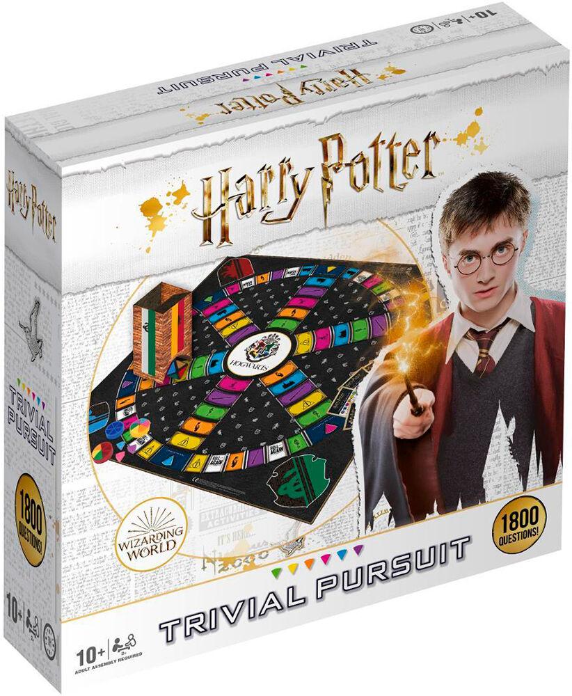 Trivial Pursuit Harry Potter Brettspill Komplett utgave m/ brett + 1800 spørsmål