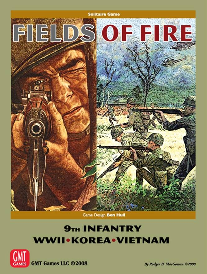 Fields of Fire Brettspill Second Edition