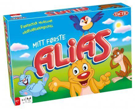 Mitt Første Alias Brettspill