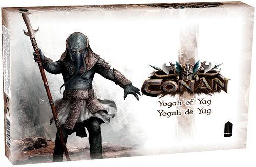 Conan Yogah of Yag Expansion Utvidelse til Conan Brettspill