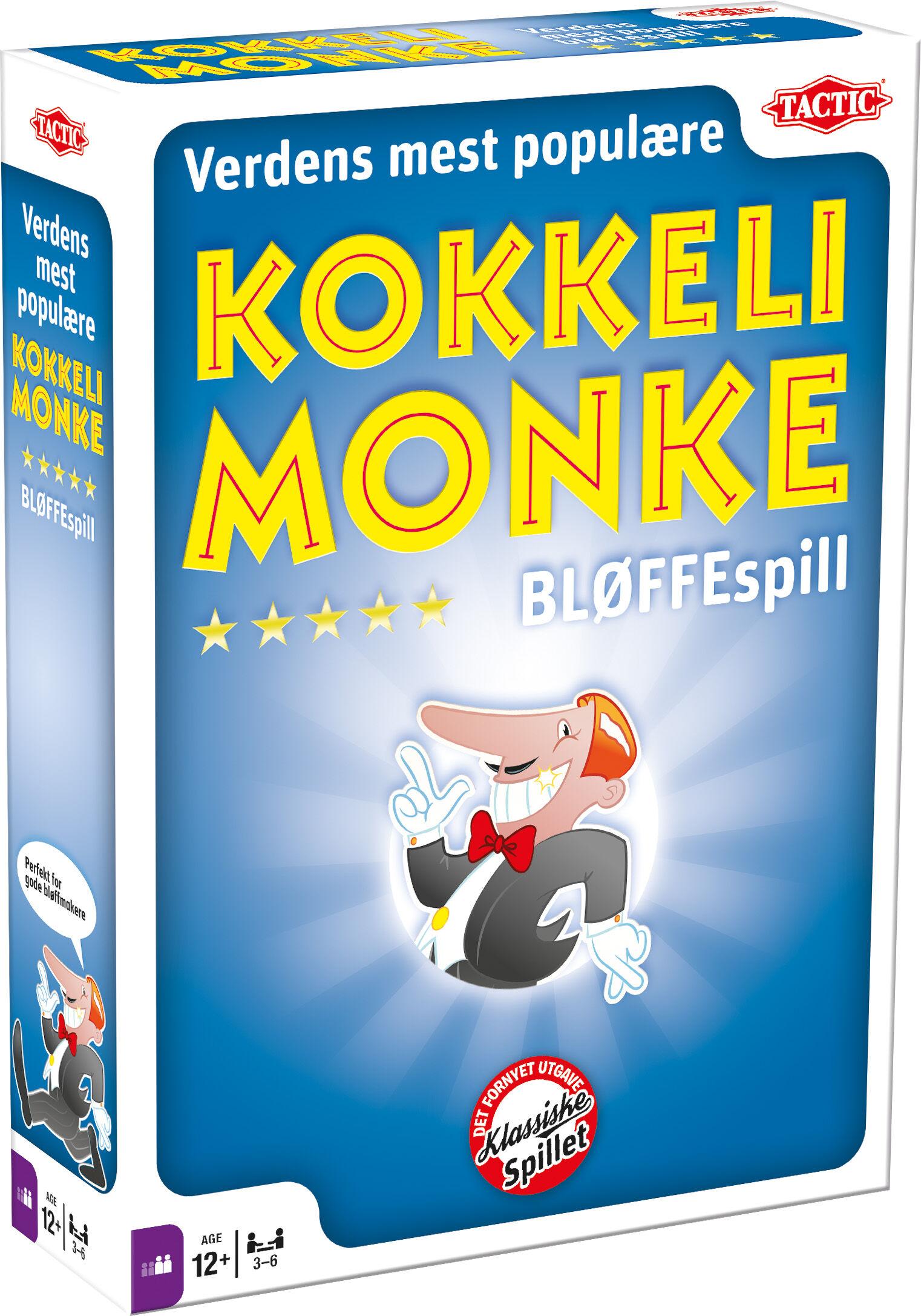 Kokkelimonke Brettspill Terningkast 6 i VG!