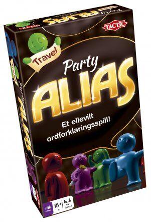 Party Alias Travel Brettspill Reiseutgave