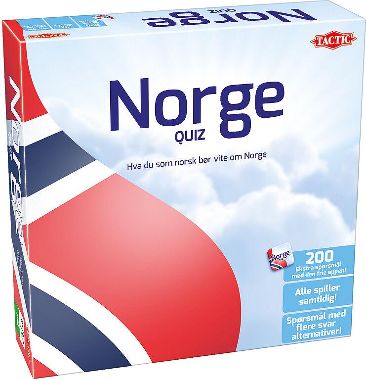 Norge Quiz Brettspill