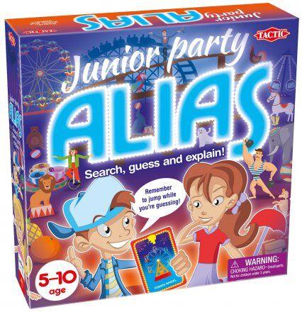Junior Party Alias Brettspill Norsk utgave