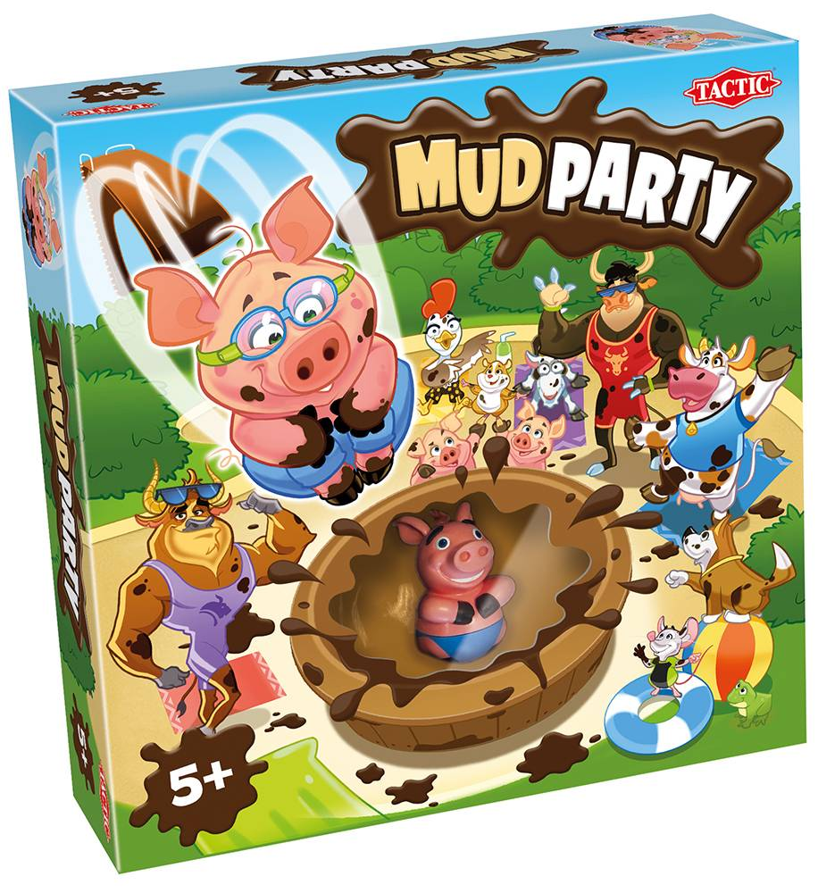 Peppa Pig Mud Party Norsk utgave