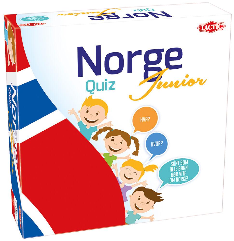 Norge Quiz Junior Brettspill Norsk utgave