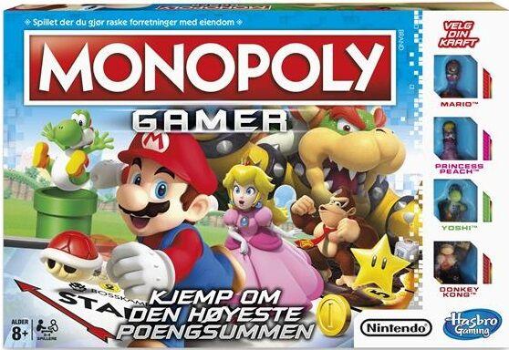 Nintendo Monopoly Gamer Brettspill Nintendo