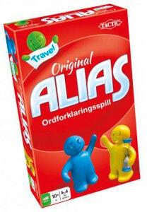 Alias Reisespill Brettspill Alias i kjekk reiseutgave