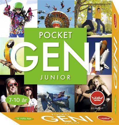 Pocket Geni Junior 7-10 år Brettspill