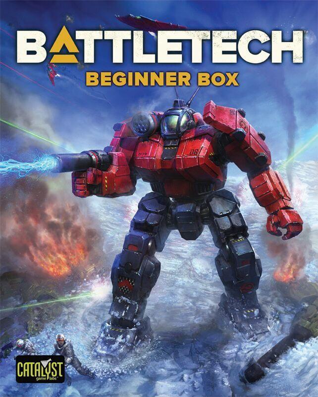 Battletech RPG Beginner Box 2018 Edition Startpakke for Battletech
