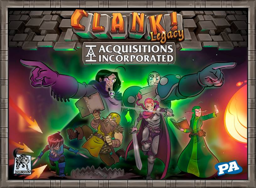 Clank Legacy Brettspill Acquisitions Incorporated