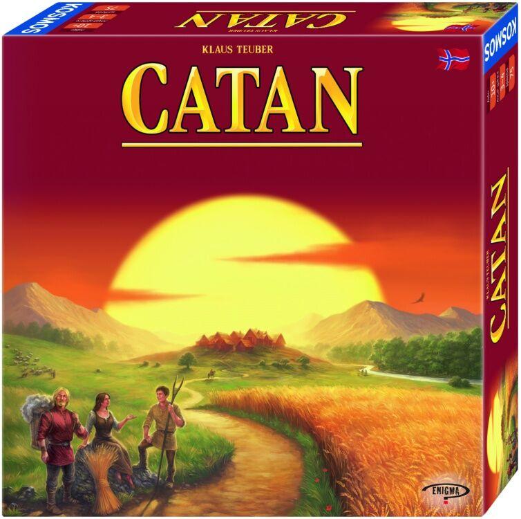 Catan Grunnspill Norsk Hovedspill 4th Edition Settlers fra Catan