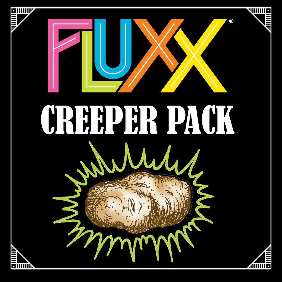 Fluxx Creeper Pack Expansion Utvidelse til Fluxx