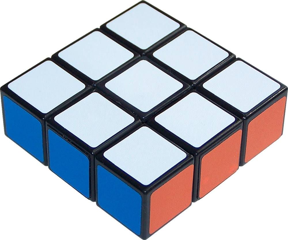 Cube Rubiks Cube Edge 3x1