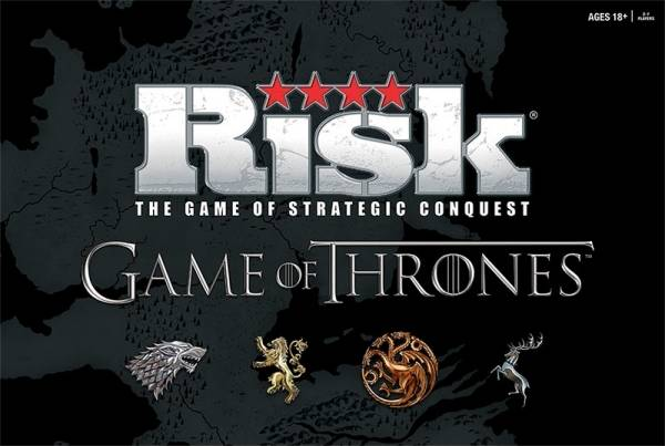 Risk Game of Thrones Deluxe Brettspill Deluxe Edition