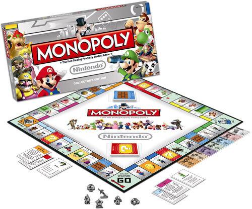 Nintendo Monopoly Nintendo Collectors Edition Super Mario, Yoshi, Donkey Kong ++