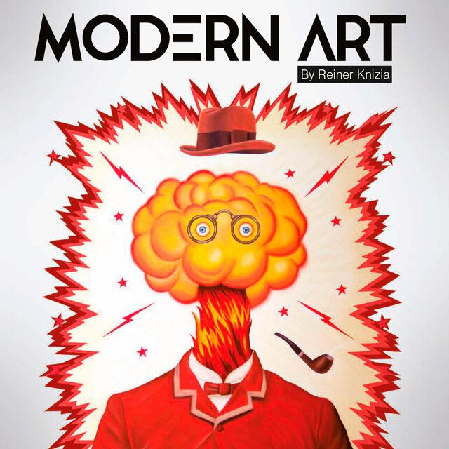 ART Modern Art Brettspill
