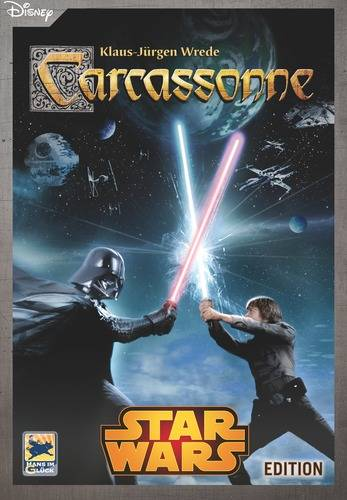 Carcassonne Star Wars Brettspill Limited Edition - Spesialutgave!