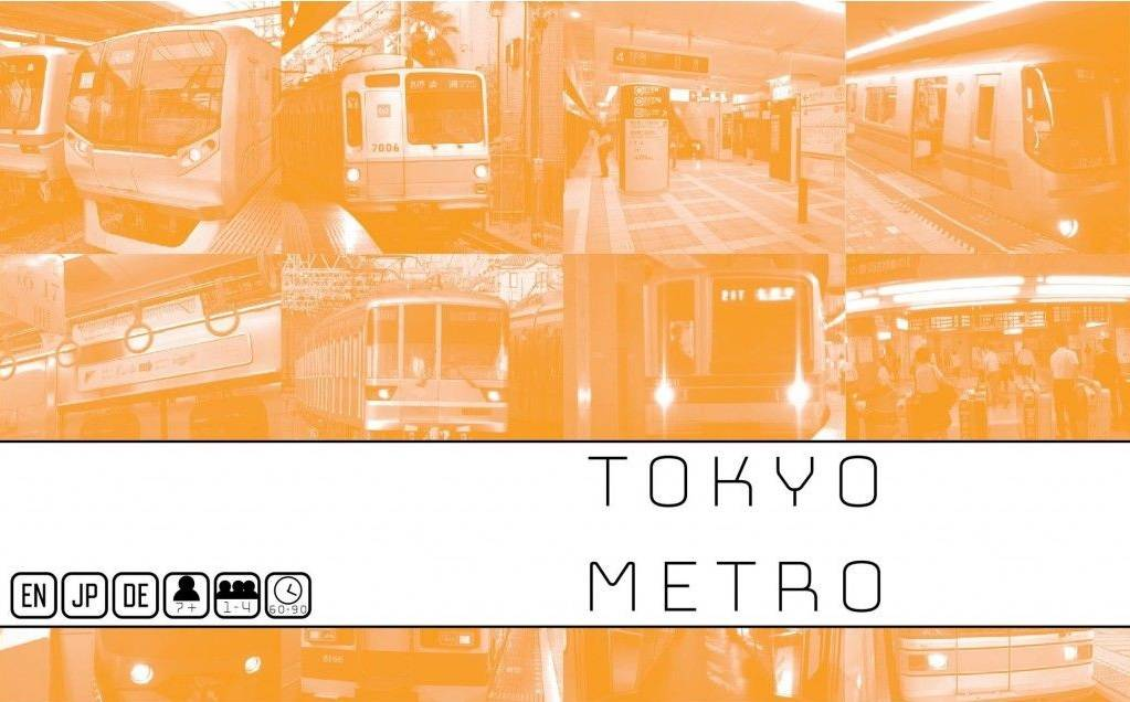 Metro Tokyo Metro Brettspill