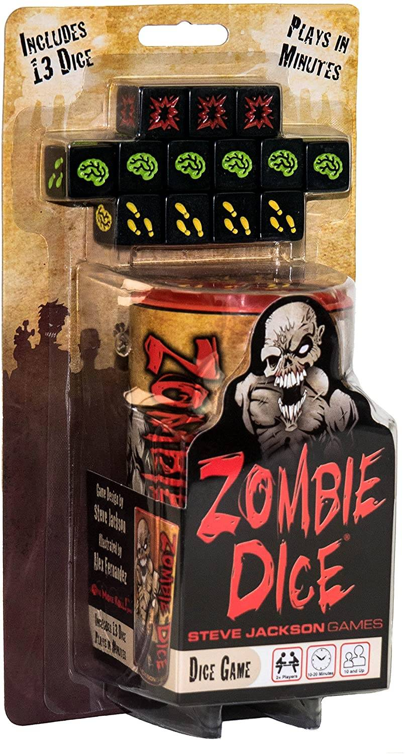 Zombie Dice Game Terning Brettspill