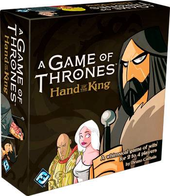 Game of Thrones Hand of King Kortspill Hand of the King