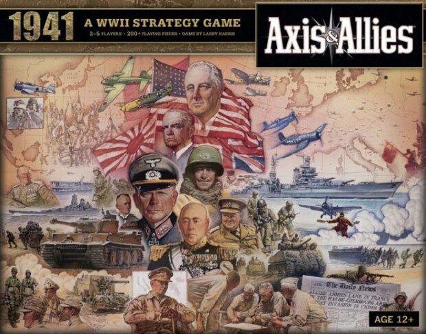 Axis & Allies 1941 Brettspill Et raskere Axis & Allies!