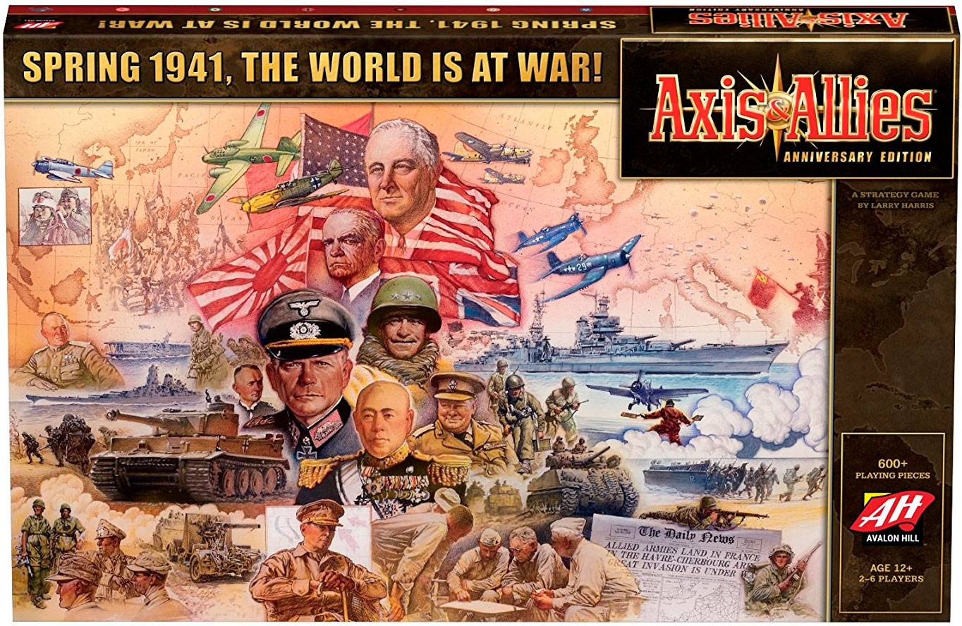 Axis & Allies Anniversary Edition 2nd Edition Stor Jubileumsutgave