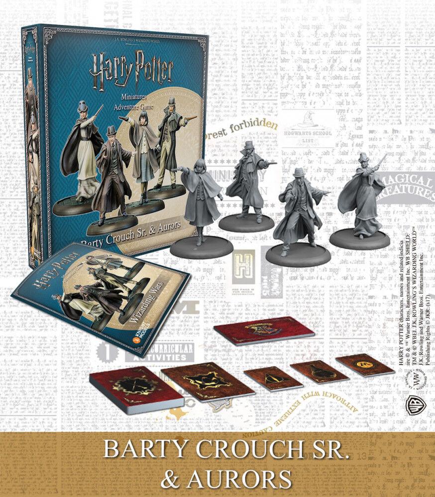 Harry Potter MG Barty SR & Aurors Exp Utvidelse Harry Potter Miniature Game