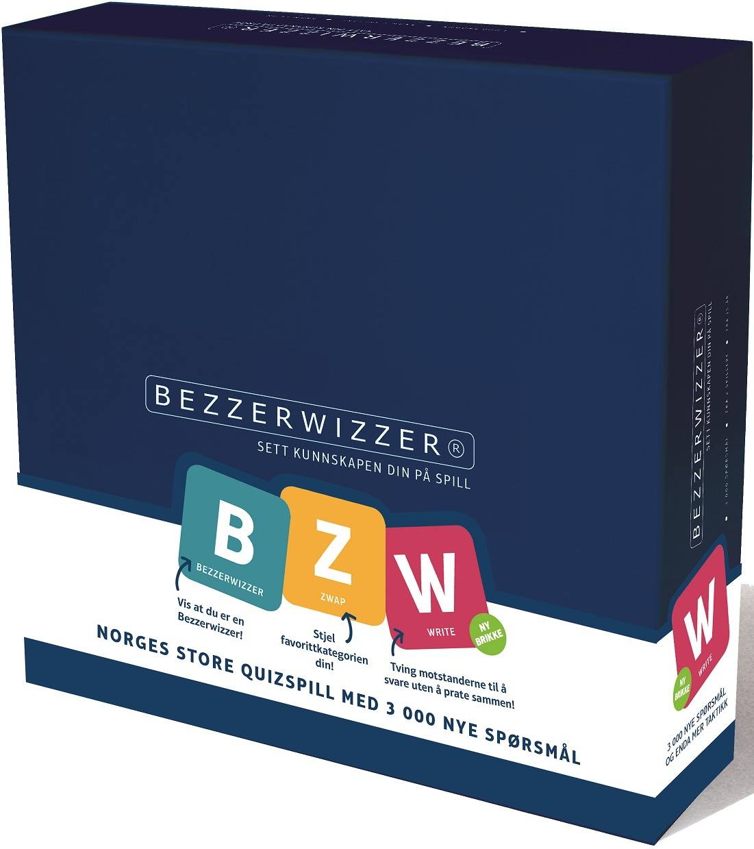 Bezzerwizzer Original Norsk 3000 Helt nye spørsmål og ny taktikk