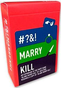 Blank Marry Kill Rated R Expansion Utvidelse til Blank Marry Kill