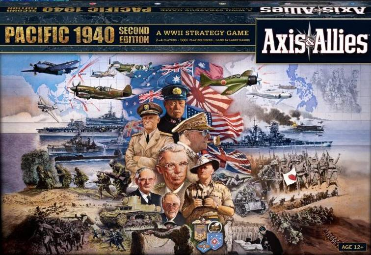 Axis & Allies Pacific 1940 Brettspill 2nd Edition - Frittstående spill