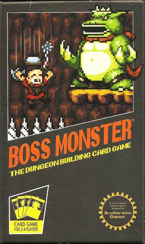Boss Monster Dungeon Building Card Game Brettspill
