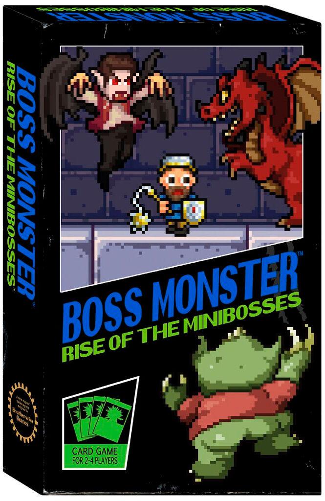 Boss Monster Rise of Minibosses Kortspi Frittstående spill i Boss Monster serien