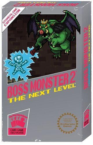 Boss Monster 2 The Next Level Kortspill Frittstående utvidelse til Boss Monster